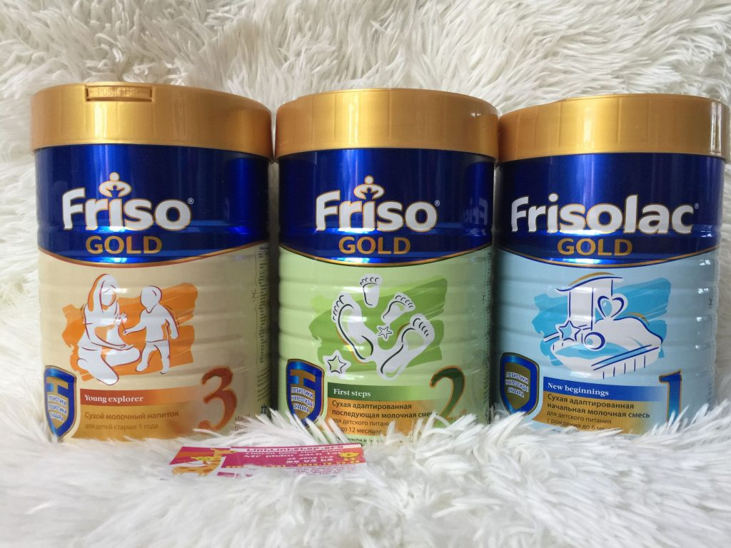 Sữa Frisolac Gold
