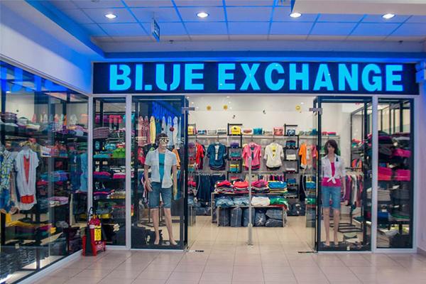 Thương hiệu thời trang Blue Exchange