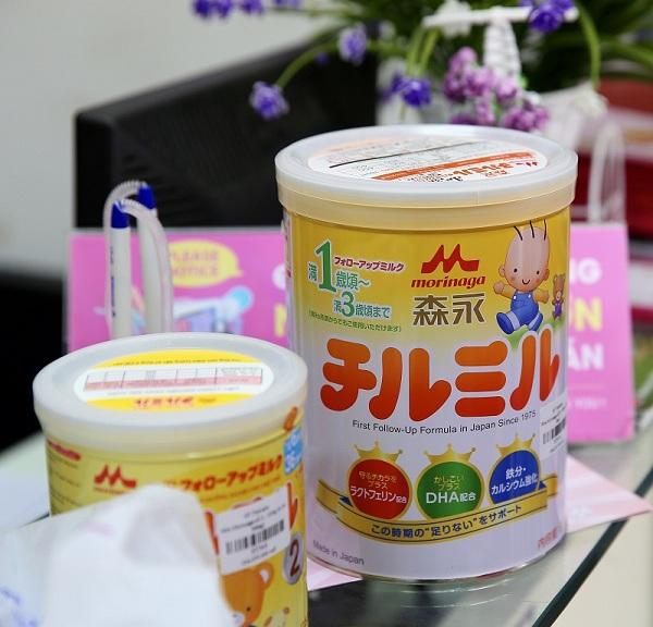 Sữa Morinaga của Nhật Bản